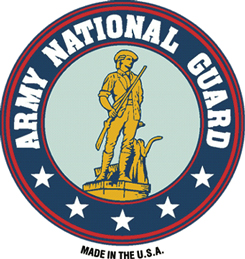 View US ARMY NATIONAL GUARD MAGNET