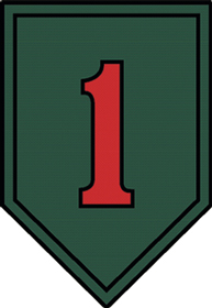 View US ARMY 1ST DIVISION BIG RED ONE MAGNET