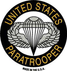 View US ARMY PARATROOPER MAGNET UNITED STATES