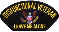 View DYSFUNCTIONAL VETERAN PATCH