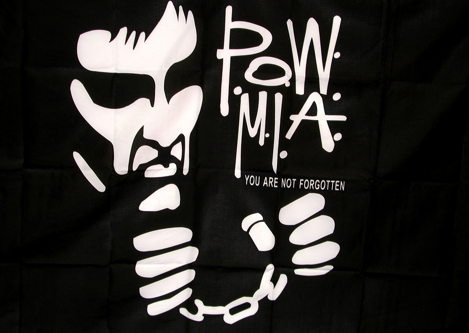 View CHAIN POW MIA FLAG