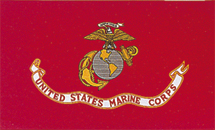 View U S MARINES CORPS  FLAG