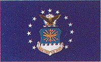 View USAF AIR FORCE FLAG
