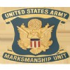 View  US Army Marksmanship Unit Crest DUI (United States Army Marksmanship Unit)